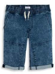 Hudson Boy's Denim Motorcross Shorts