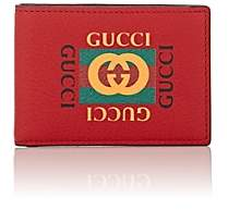 Gucci Men's Logo Slim Billfold - Red