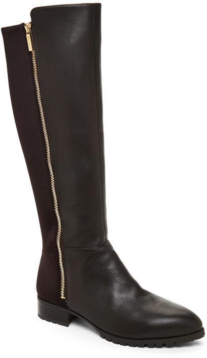 Nine Westnine west Dark Brown Legretto Tall Stretch Boots