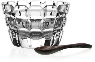 """William Yeoward Crystal """"Blodwyn"""" Salt Dish & Spoon"""