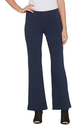 Women With Control Women with Control Petite Soft Tech Pull-On Low Bell Pants