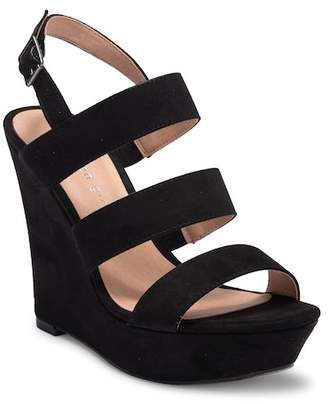 Madden-Girl Blenda Wedge Platform Ankle Strap Sandal