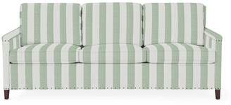 Serena & Lily Spruce Street 3-Seat Sleeper with Nailheads