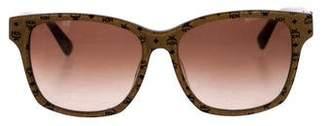 MCM Monogram Gradient Sunglasses