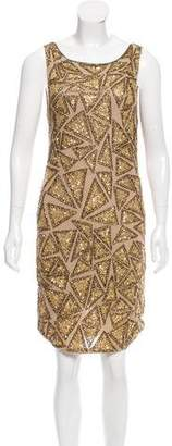 Alice + Olivia Embellished Mini Dress