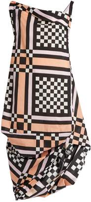 VIVIENNE WESTWOOD ANGLOMANIA Tube Nomad checked cotton dress