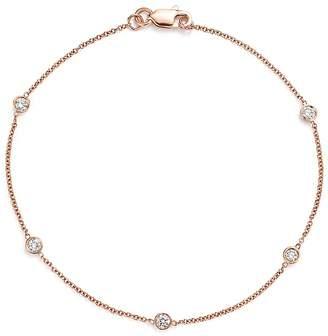 Bloomingdale's Diamond Station Bracelet in 14K Rose Gold, .25 ct. t.w. - 100% Exclusive