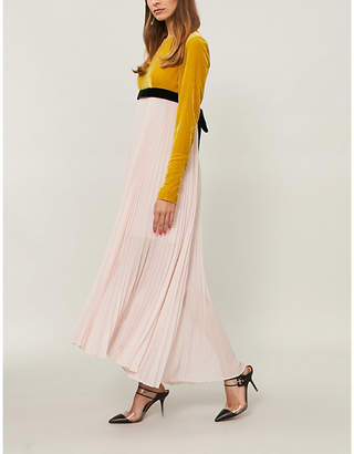 Philosophy di Lorenzo Serafini Pleated crepe dress