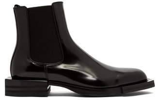 Alexander McQueen Leather Chelsea Boots - Mens - Black