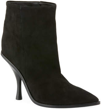 Sigerson Morrison Hong Suede Pointed-Toe Boot