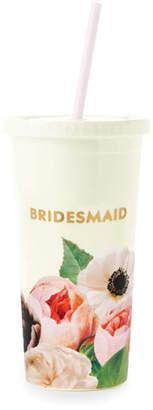 Kate Spade Blushing Floral Bridesmaid Insulated Tumbler