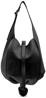 J.W.Anderson Knot Leather Shoulder Bag - Womens - Black