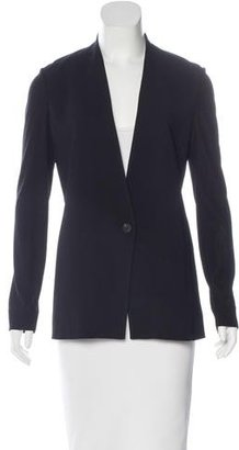 Helmut Lang Collarless Long Sleeve Blazer w/ Tags $95 thestylecure.com