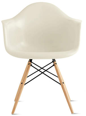 Design Within Reach Herman Miller Eames Molded Fiberglass Dowel-Leg Armchair (DFAW) at DWR