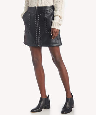 7e9ad779f9 Greylin Women's Luca Vegan Leather Skirt In Color: Black Size XS From Sole  Society