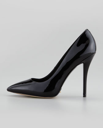 Brian Atwood Desire Patent Pointed-Toe Pump
