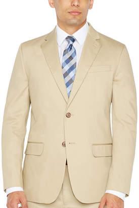 Jf J.Ferrar JF Khaki Sport Coat Slim