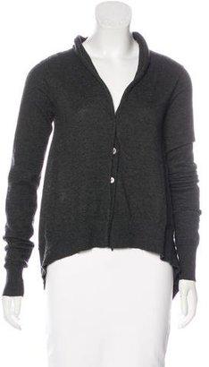 Inhabit Cashmere Rib Knit Cardigan $130 thestylecure.com