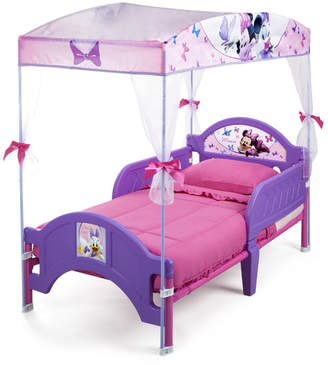 Delta Children Disney Minnie Mouse Bow-tique Convertible Toddler Bed