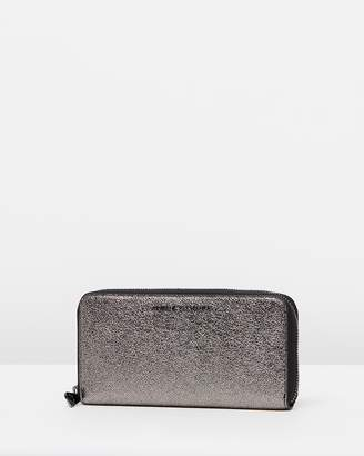 Armani Exchange Round Zip Wallet