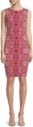 Tart Women's Helena Baroque Print Sheath Dress
