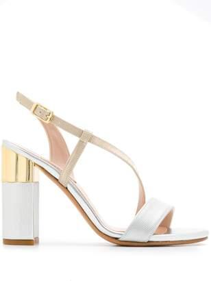 Albano ridged strappy sandals
