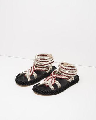 Isabel Marant Lou Sandal $585 thestylecure.com