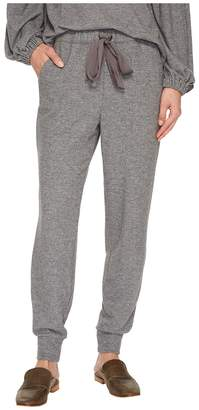1 STATE 1.STATE Brushed Jersey Joggers w/ Satin Tie Women's Casual Pants