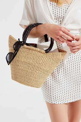 Urban Renewal Vintage Remade Small Straw Bag