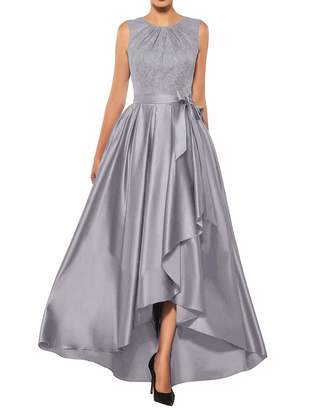 Uther Mother of The Bride Dresses Lace High Low Formal Evening Party Gown A Line Prom Dress