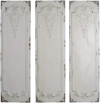 A&B Home Set Of 3 Alcott Wall Panels