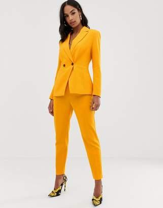 Asos Design DESIGN orange pop slim suit pants