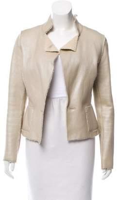 Oscar de la Renta Open Front Long Sleeve Jacket w/ Tags