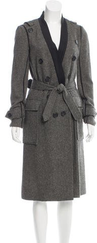 Chloé Chloé Twill Wool Coat