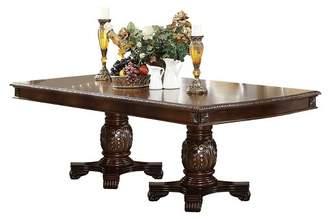 ACME Furniture Chateau De Ville Dining Table with Double Pedestal - Espresso - Acme