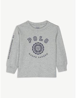Ralph Lauren Logo crest cotton top 3-24 months