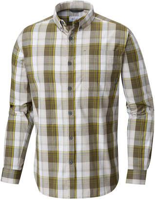 Columbia Men's Big and Tall Long-Sleeve Plaid Shirt