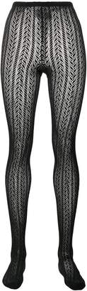 Philosophy di Lorenzo Serafini patterned tights