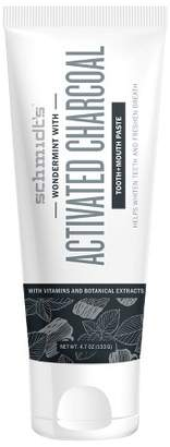Schmidt Schmidt's Activated Charcoal Tooth and Mouth paste - 4.7oz