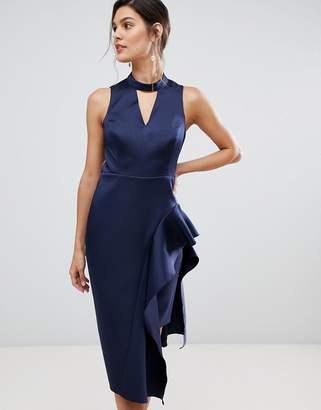 Coast Carlotta asymettric layered hem dress