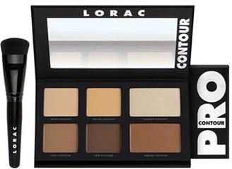 Lorac 'Pro' Contour Palette & Brush - No Color $45 thestylecure.com