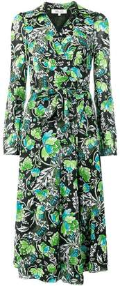 Diane von Furstenberg flower print dress