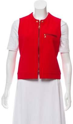 Louis Vuitton Knit Zip Front Vest