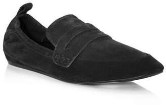 Lanvin Supple Suede Calfskin Loafer