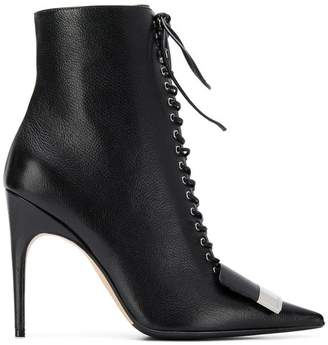 Sergio Rossi sr1 lace-up booties