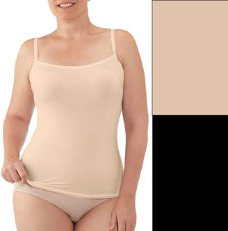 Fruit of the Loom Plus Size Fit for Me 2-pack Seamless Cami 2DSUSCP