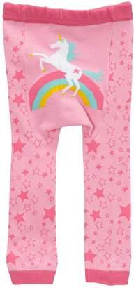 Doodle Pants Unicorn Leggings (Baby Girls)