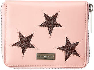 Stella McCartney Star Embellished Compact Wallet