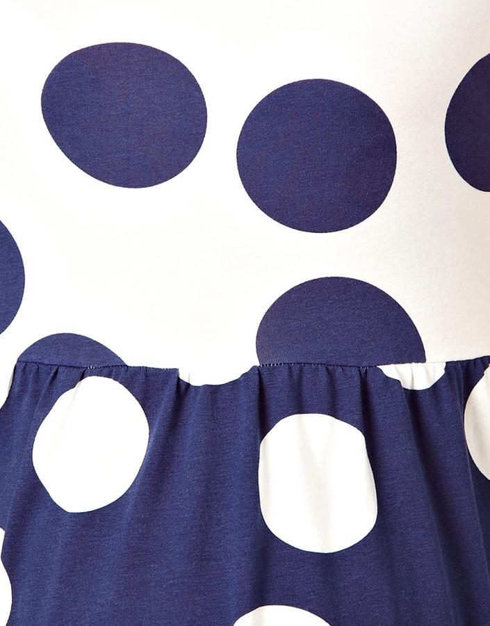 Asos Smock Dress in Reverse Spot
