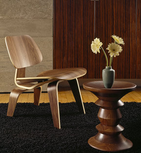 Herman Miller Eames Walnut Stool